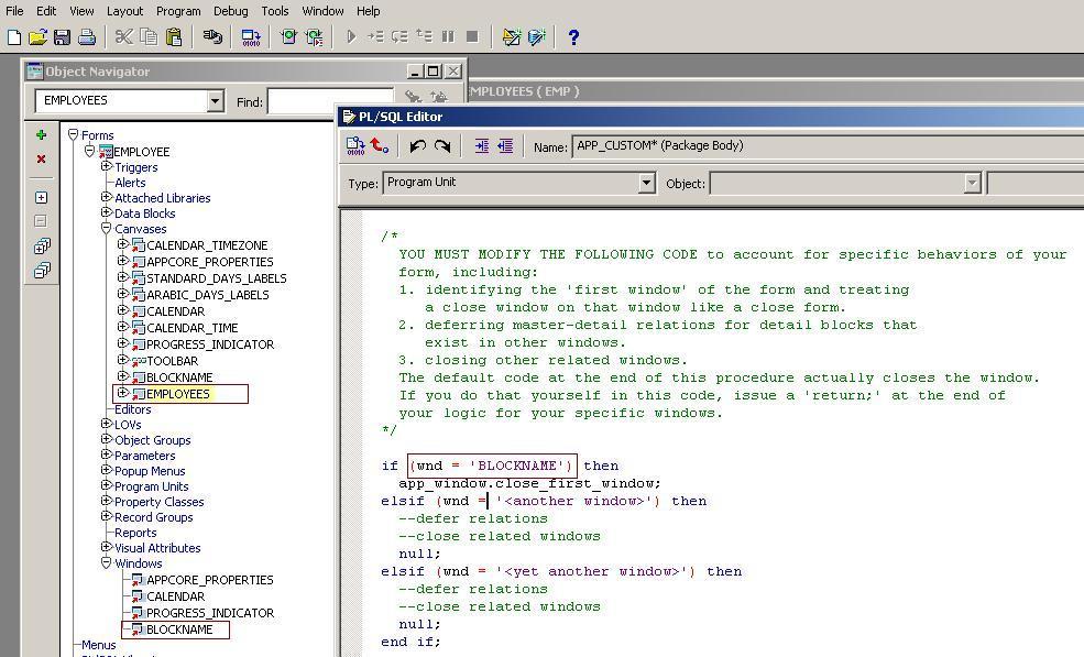 OraclePort.com | Form Customization R12