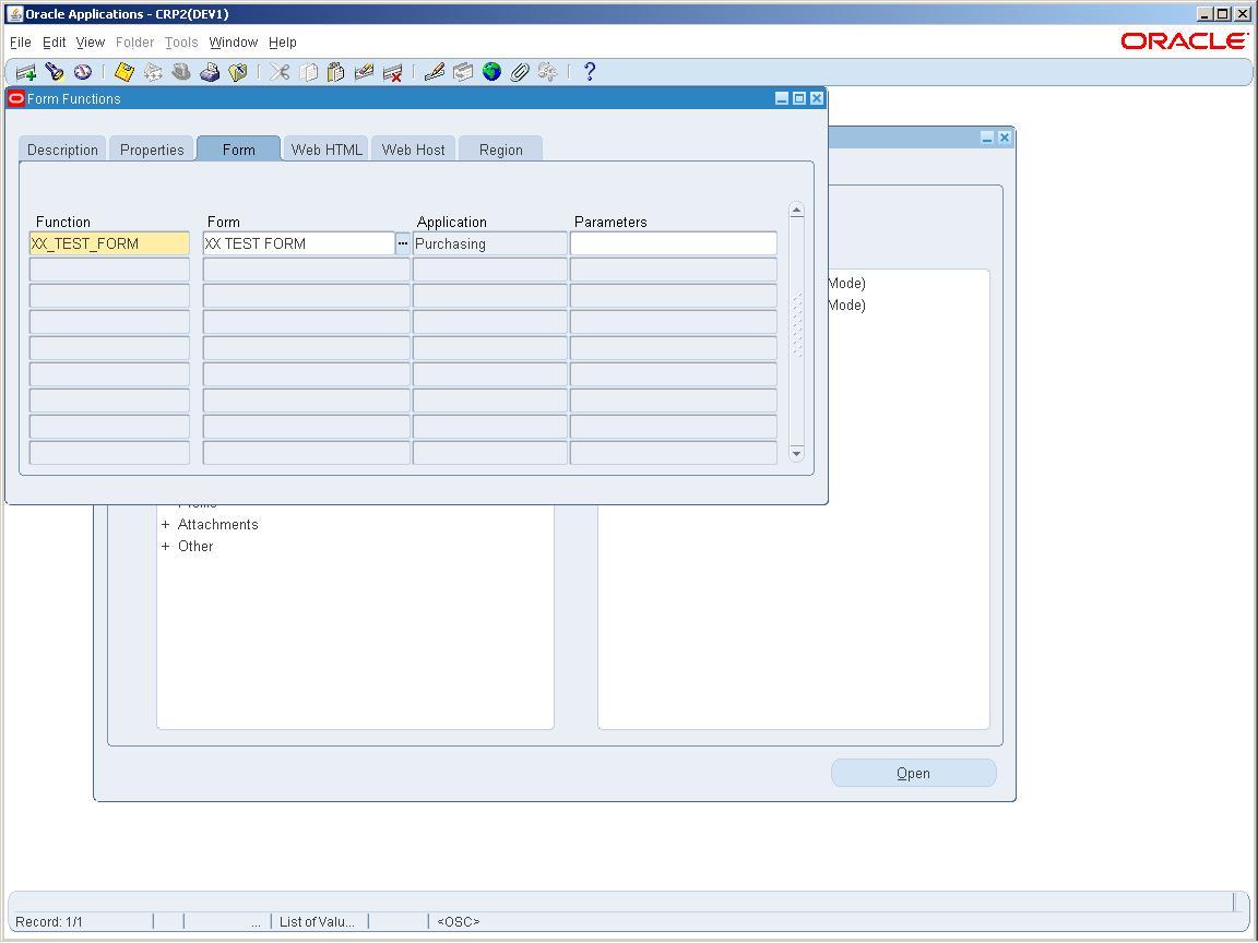 Form Customization R12 - OraclePort com