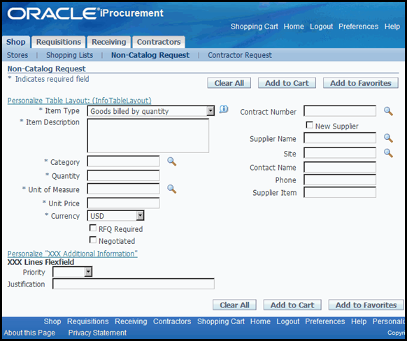 Oracle OAF Personalization, Adding Flexfield on OAF / HTML